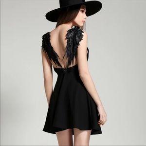 NWOT Winged Dress